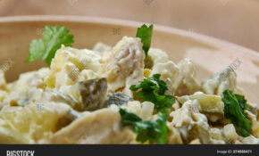Zesty Chicken Salad Image & Photo (Free Trial) | Bigstock – Recipes Made With Canned Chicken