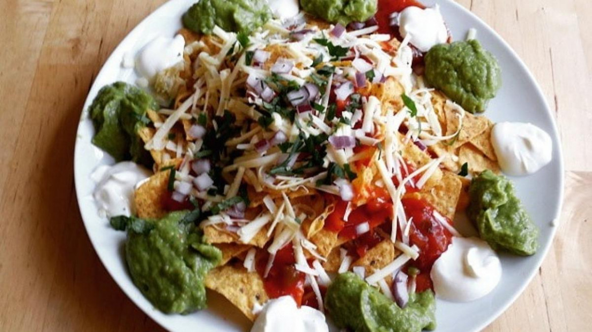 Zingy vegetarian nachos - nachos recipes vegetarian