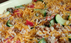 Zucchini And Ground Turkey Cheesy Casserole – Sisterhood Of ..