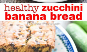 Zucchini Banana Bread – Healthy Zucchini Recipes