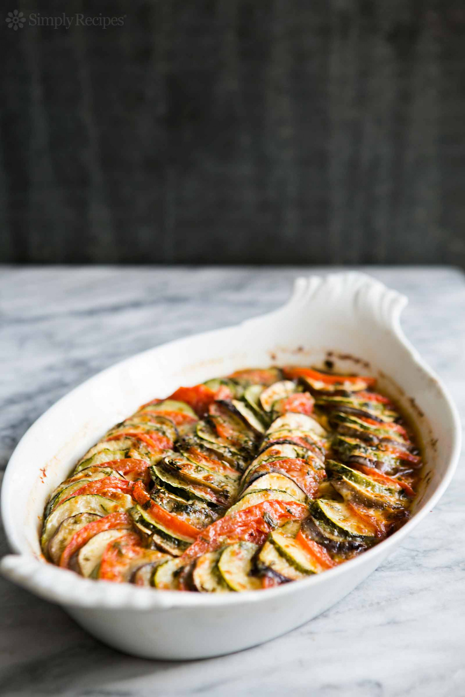 Zucchini, Eggplant, Tomato Gratin - Dinner Recipes With Zucchini And Squash