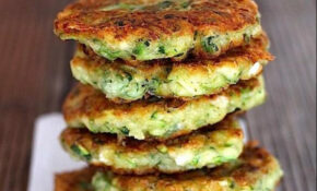 ZUCCHINI, FETA AND HERB FRITTERS GLUTEN FREE By Hungry And ..
