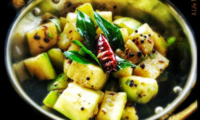 Zucchini Fry | Indian Stir Fried Zucchini With Spices – A ..