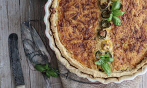 Zucchini Käse Quiche – Farbbechers Cuisine – Food Recipes Quiche