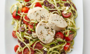 Zucchini Noodle Salad With Chicken – Zucchini Noodles And Chicken Recipes
