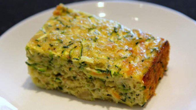 Zucchini slice | Vegetarian recipes | SBS Food - healthy zucchini recipes vegan
