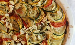 Zucchini, Tomato And Potato Casserole – Vegetarian Recipes Zucchini Tomatoes