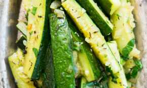 Zucchini With Thyme – Healthy Zucchini Recipes Side Dish